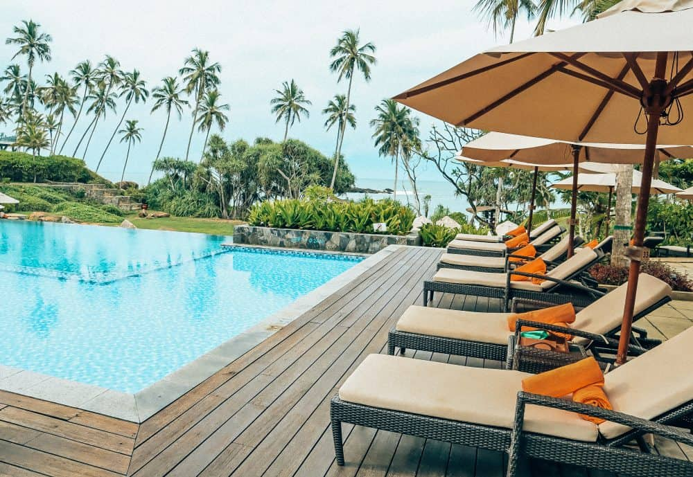 swimming pool at Anantara Peace Haven Tangalle Resort