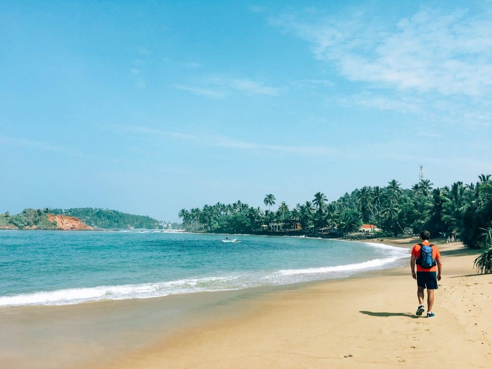beach towns in sri lanka