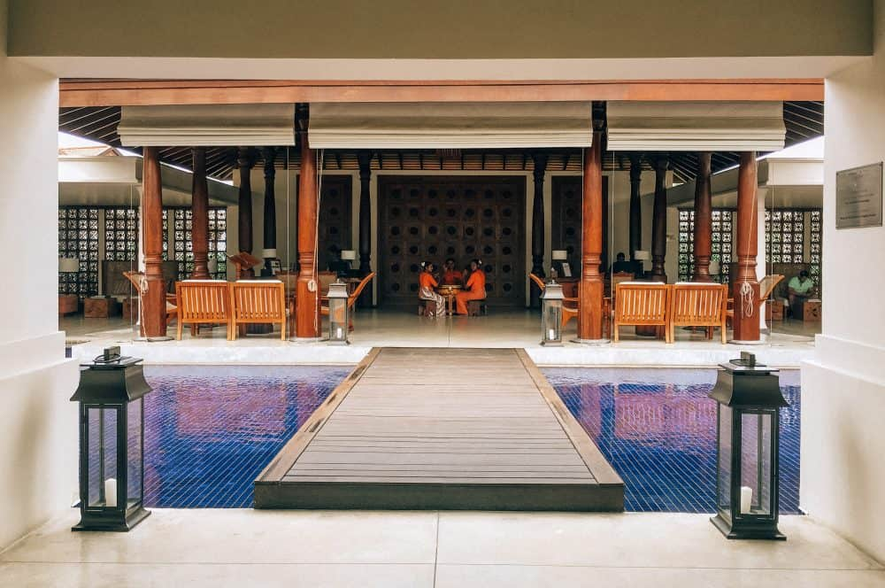 staying at the Anantara Peace Haven Tangalle Resort