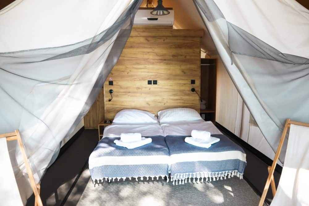 glamping accomodation in croatia