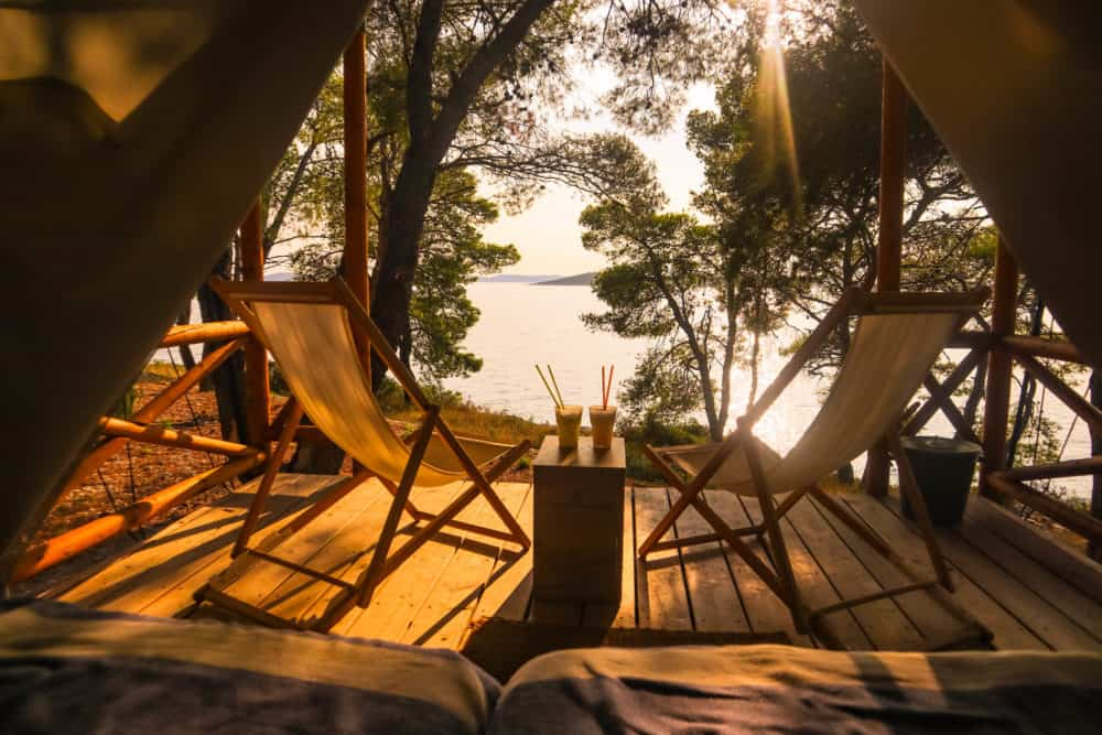 luxury glamping croatia