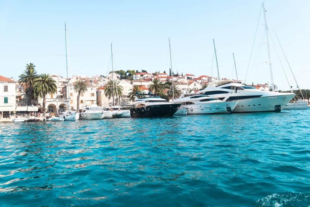 island-hopping from Split