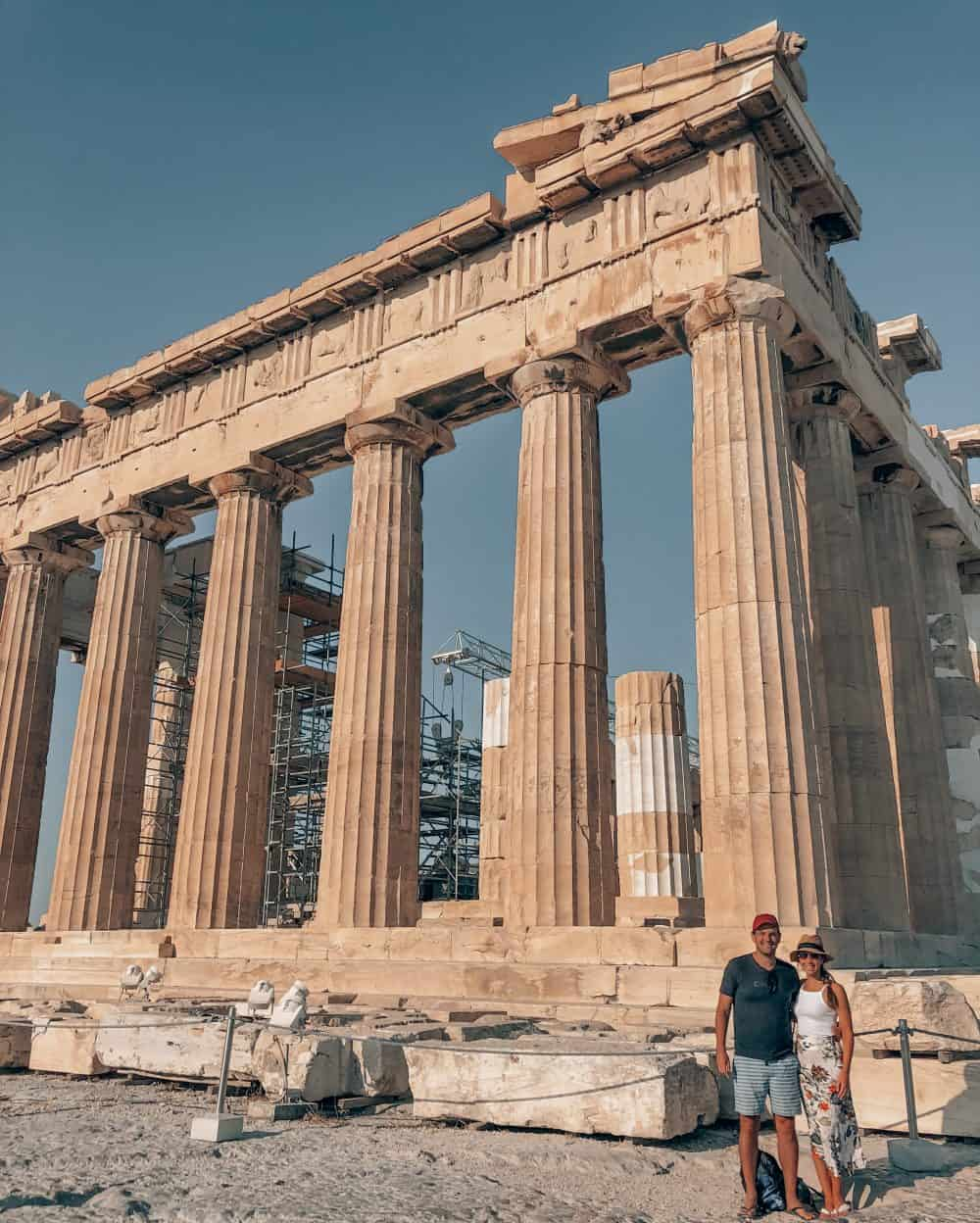 one day Athens itinerary