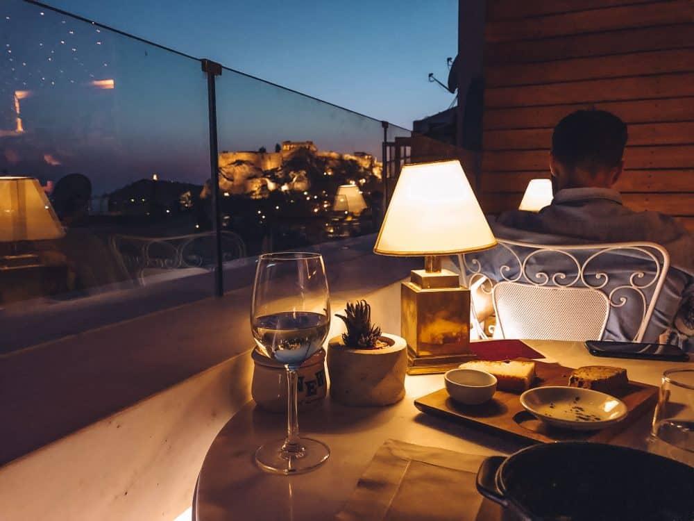 rooftop restaurants in athens