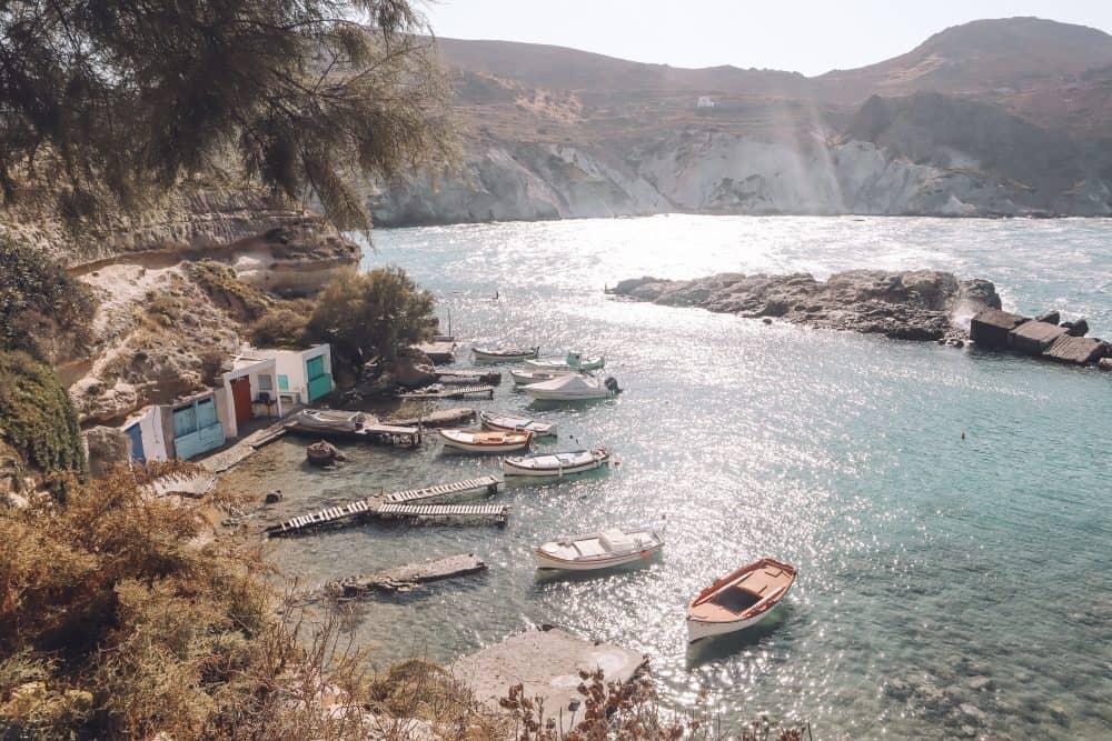 villages in Milos