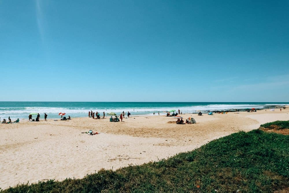 Jeffreys Bay, one of the beaches on the Garden Route
