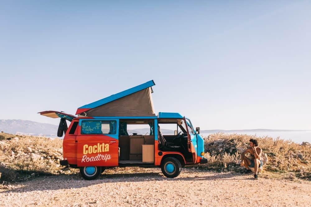 renting a campervan in Croatia