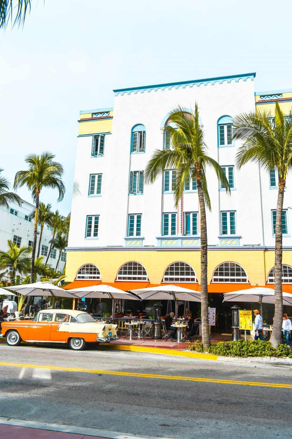 Art Deco on South Beach, Miami