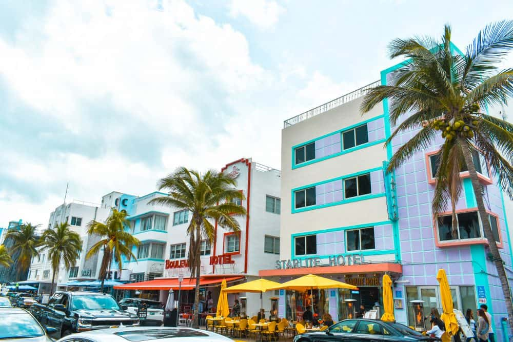 South Beach, one of the best neighbourhoods in Miami