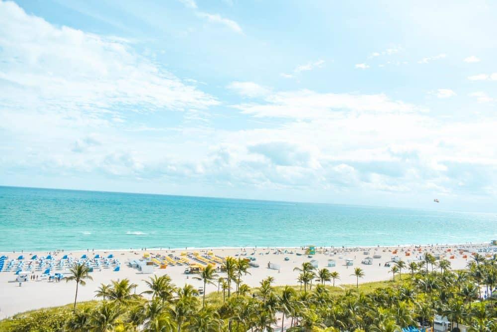 Views across Miami Beach