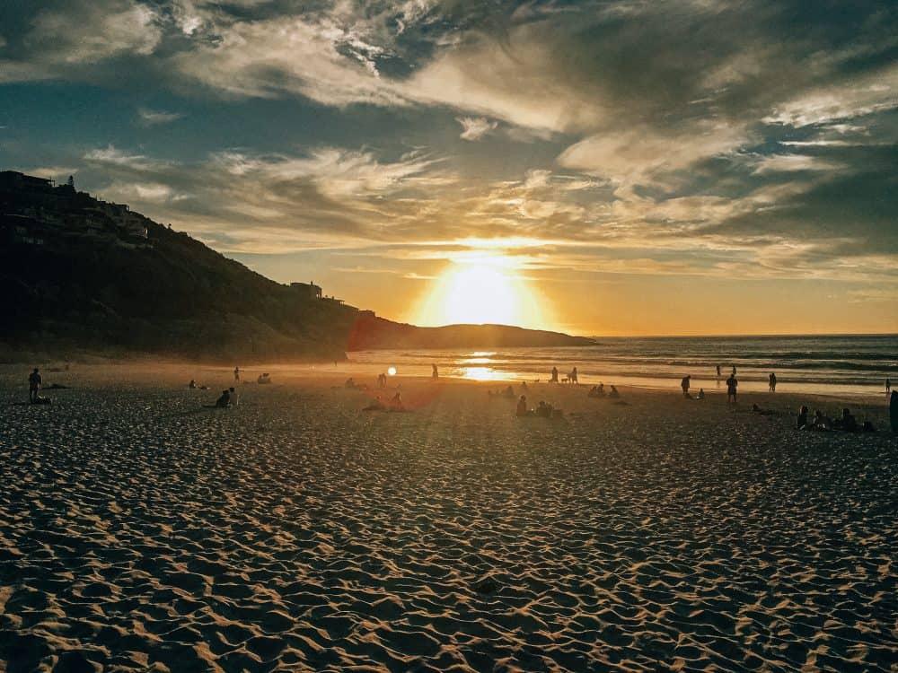 Dog-friendly Llandudno beach near Cape Town