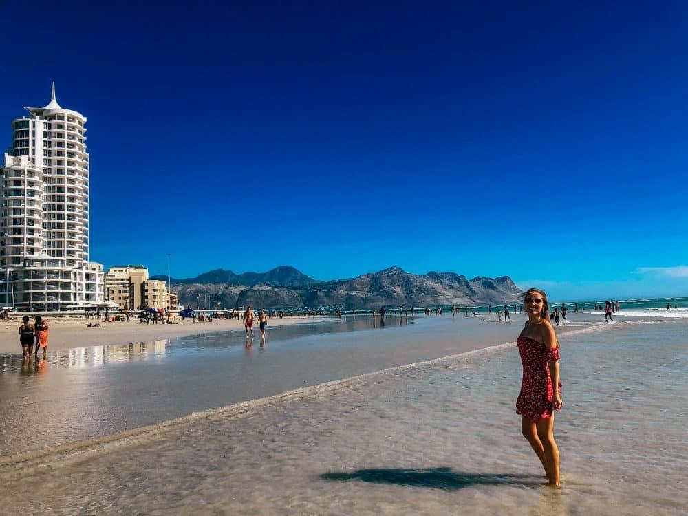 Strand Beach near Cape Town