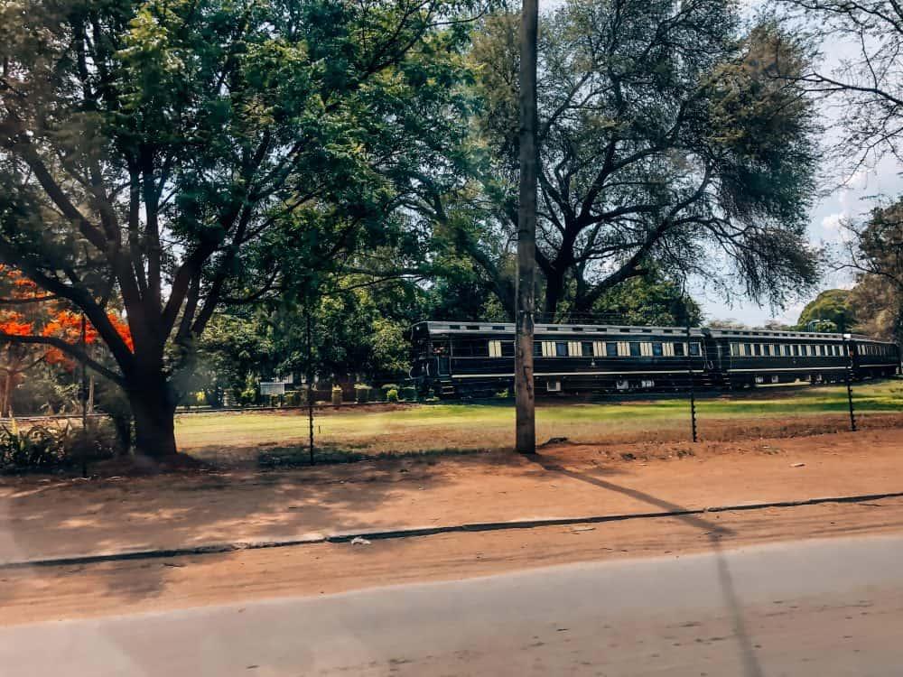 The Royal Livingstone Express dinner train