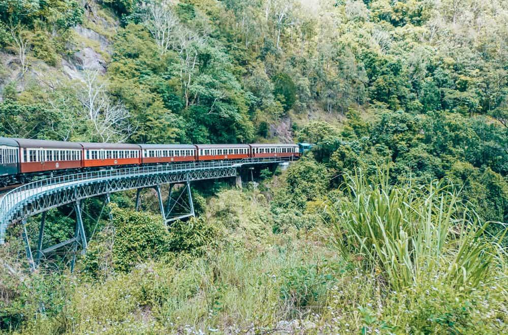 The Kuranda Skyrail from Cairns