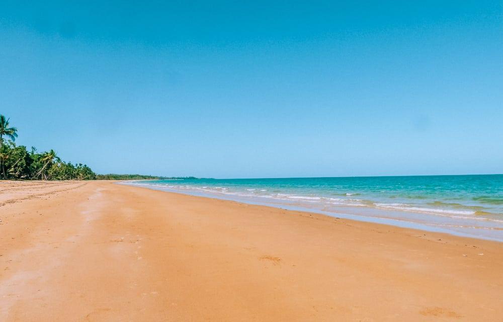 Mission Beach on the East Coast of Australia
