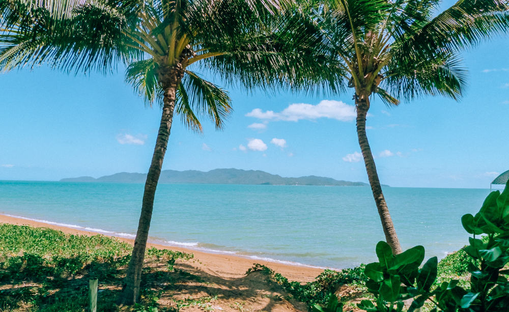 Beautiful beaches in Tropical Northern Queensland