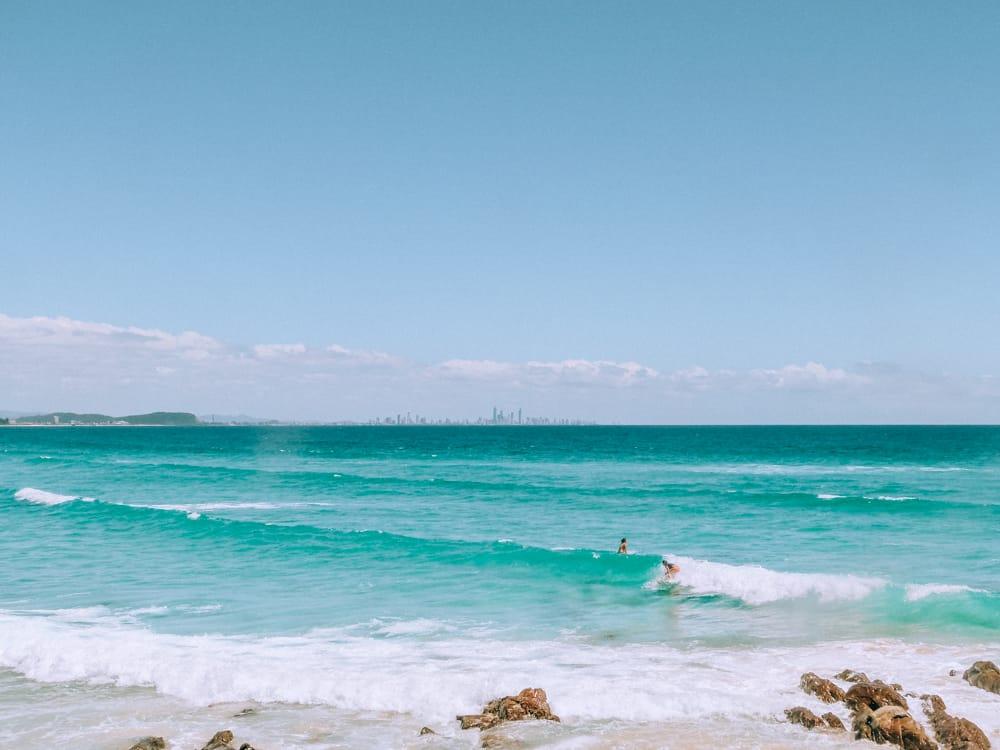 Noosa Main Beach on the East Coast Australia