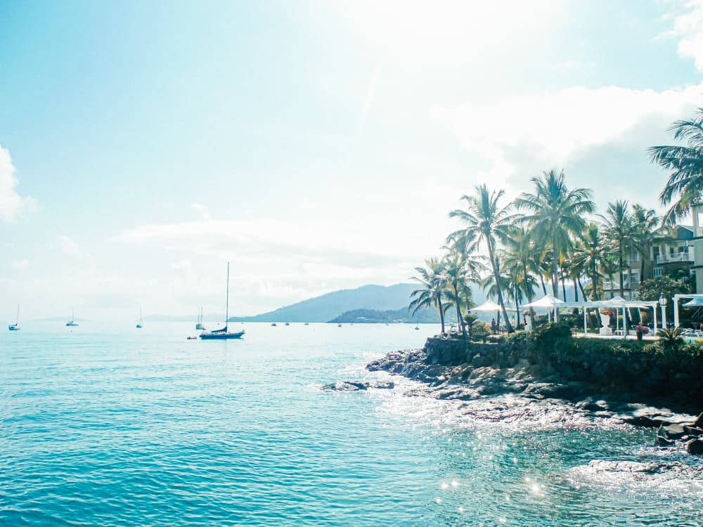 Airlie Beach, the gateway to the Whitsunday Islands
