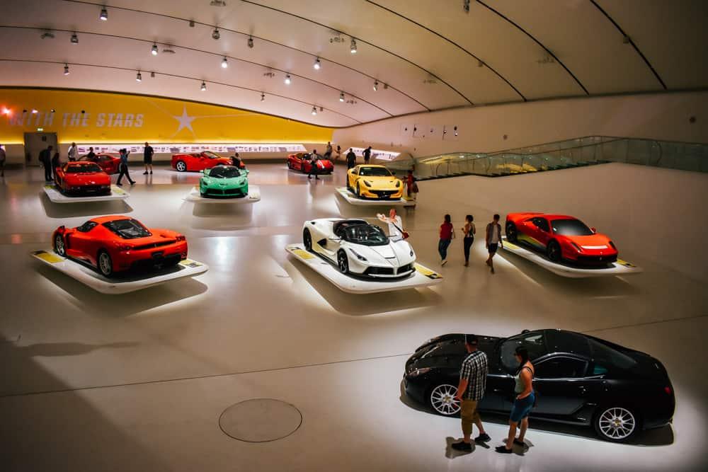 Enzo Ferrari Museum near Modena