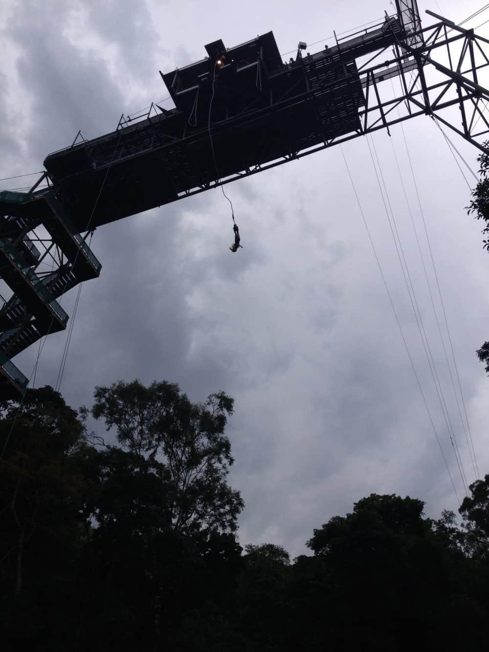 Bungee jump near Cairns