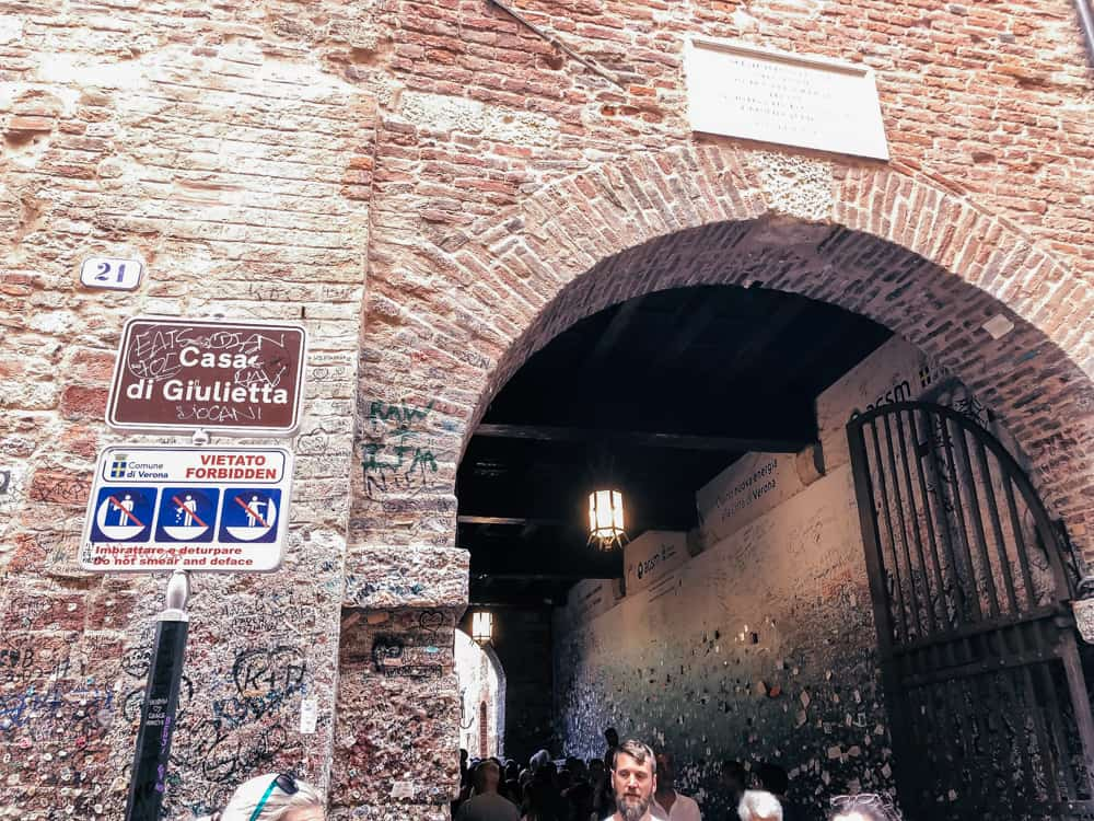 Casa di Giulietta in Verona