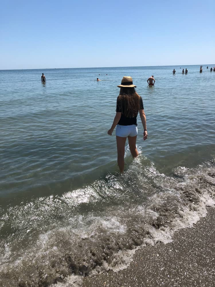 Beach at Marina di Ravenna