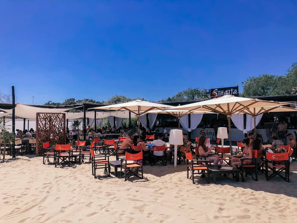 Singita Beach Club in Ravenna