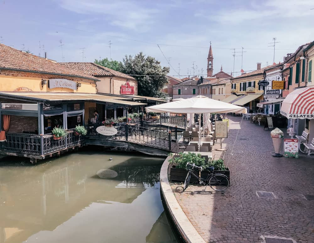 The canals of Comacchio