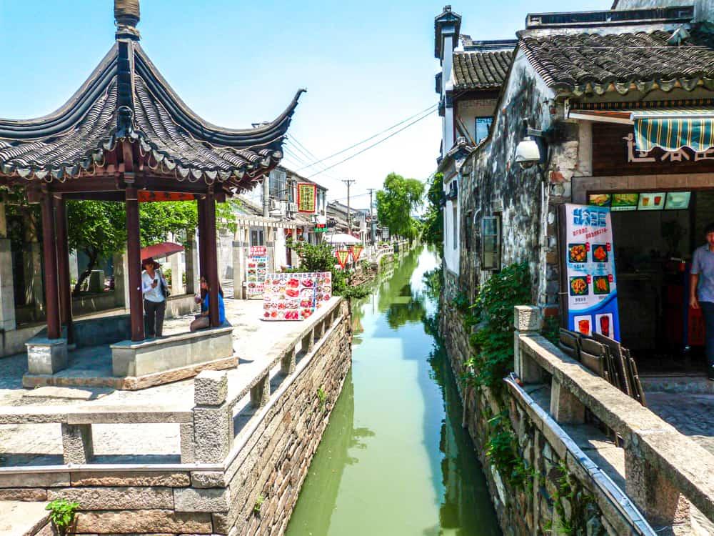 Exploring Suzhou near Shanghai