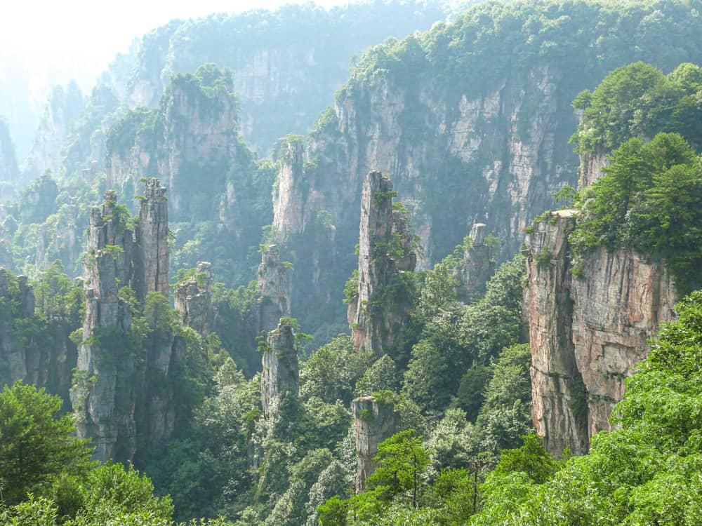 Exploring the magnificent Zhangjiajie National Park in China