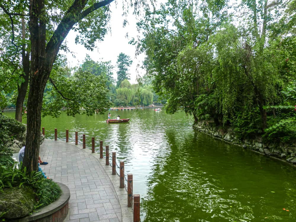 Exploring the peaceful parks in Chengdu, China