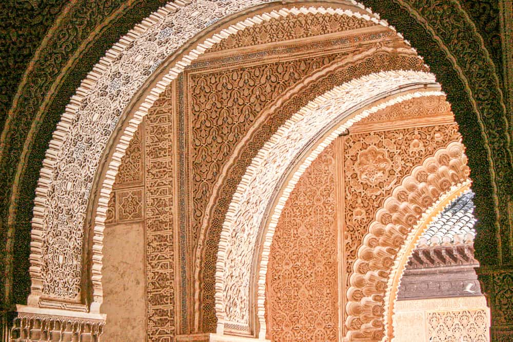 Alhambra near Granada in Andalusia