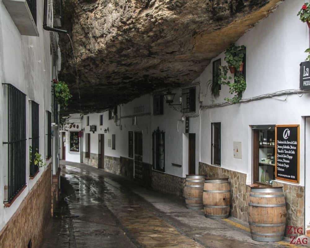 Setenil de la Bodegas in Andalusia