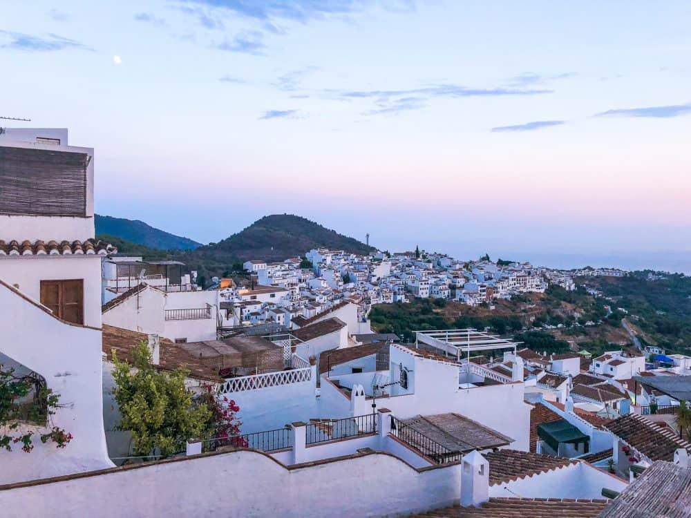 Frigilana village in Andalusia