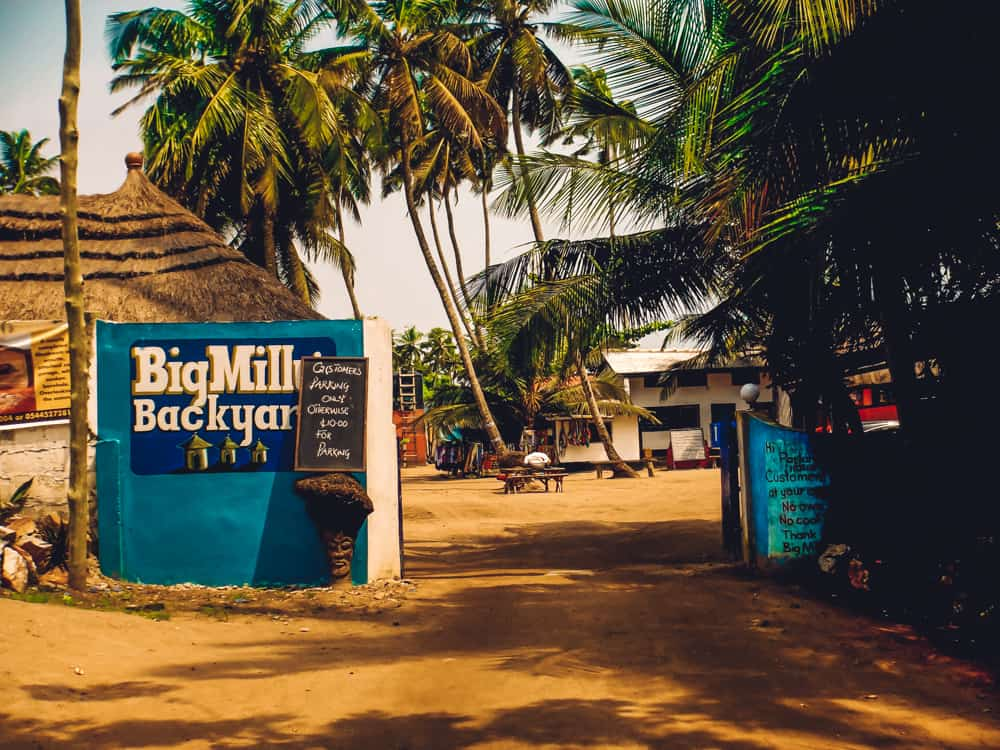Big Milly's in Kokrobite, Ghana