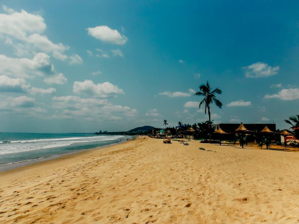 Kokrobite Beach in Ghana