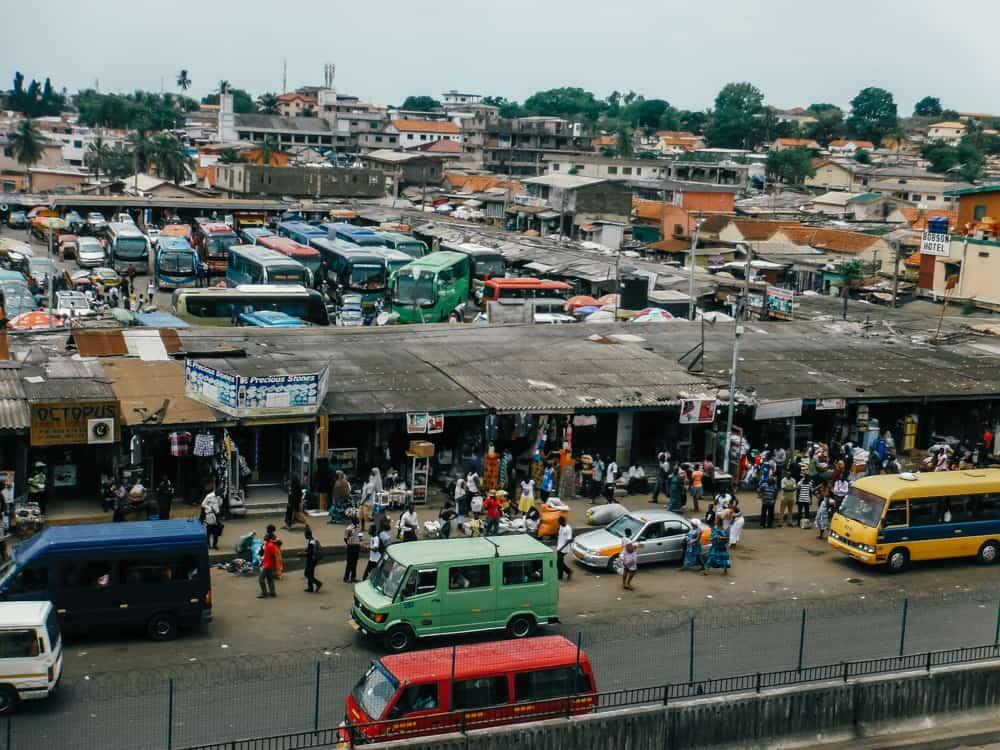 Makola Market in Accra