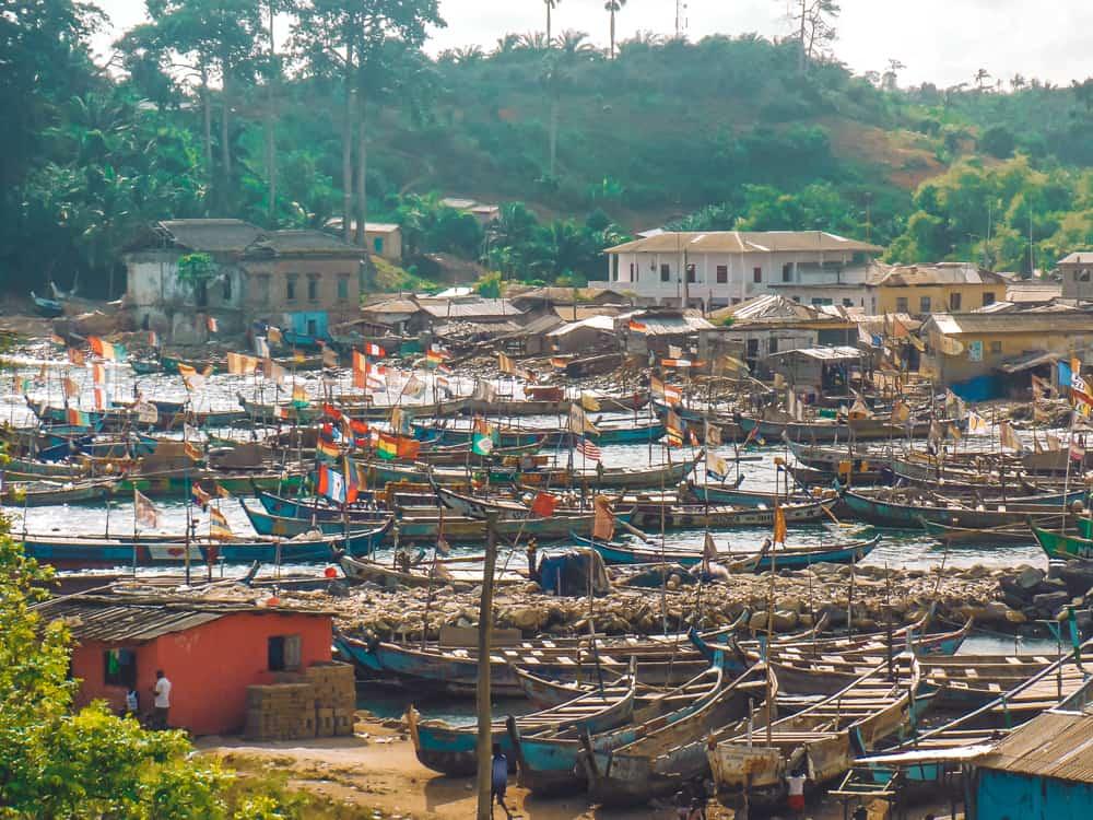 Butre village, Ghana