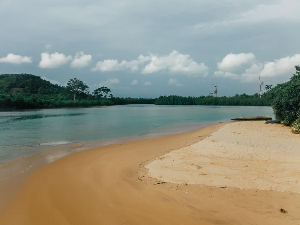 Butre Beach in Western Ghana