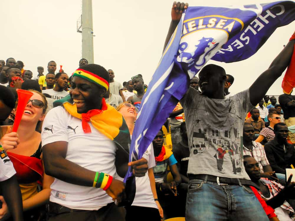 World Cup Football Qualifiers in Kumasi