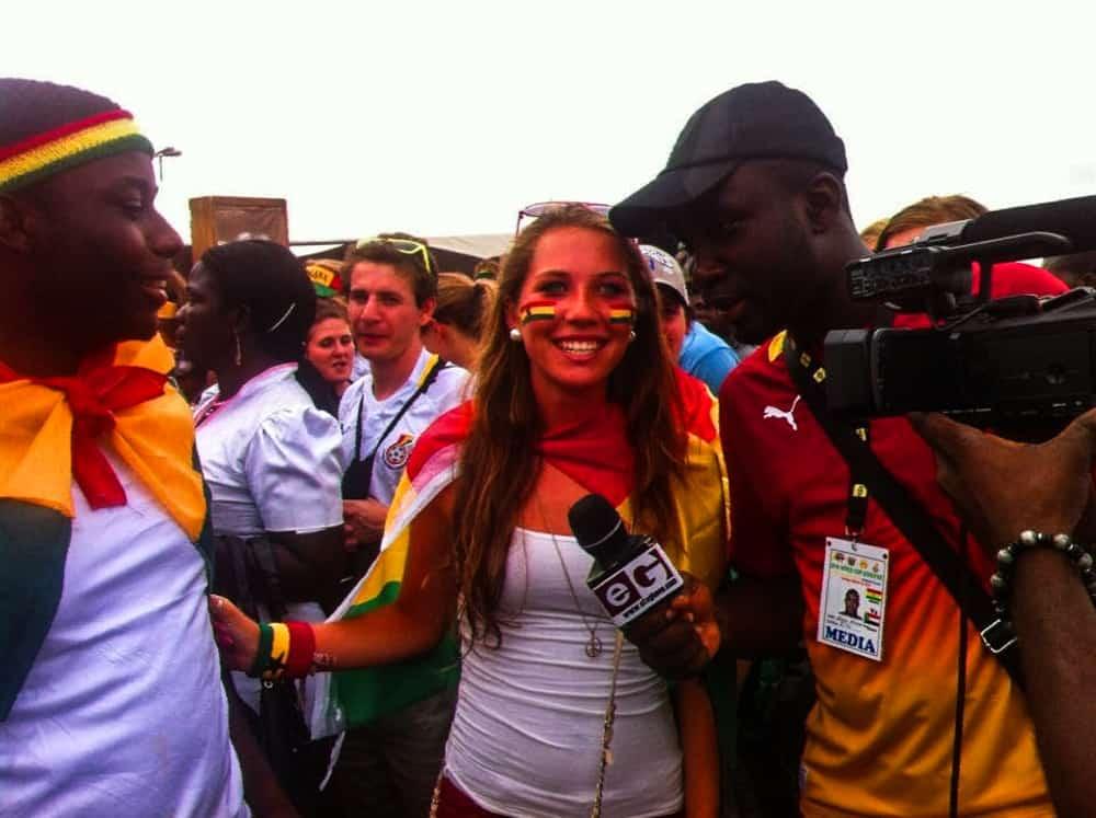 TV Interview in Ghana