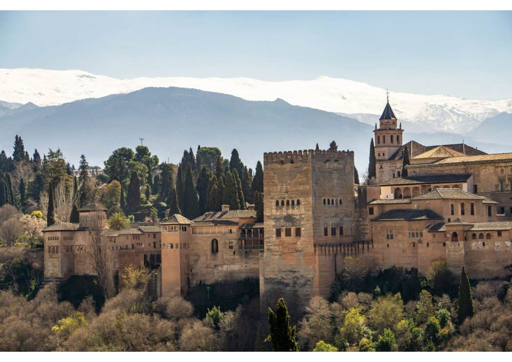 Visiting Granada in Andalusia