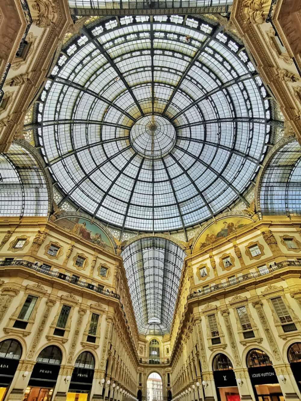 Galleria Vittori Emanuele in Milan