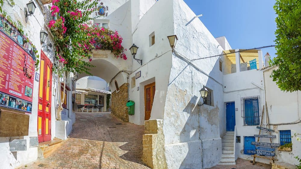 Mojacer village in Andalusia, Southern Spain