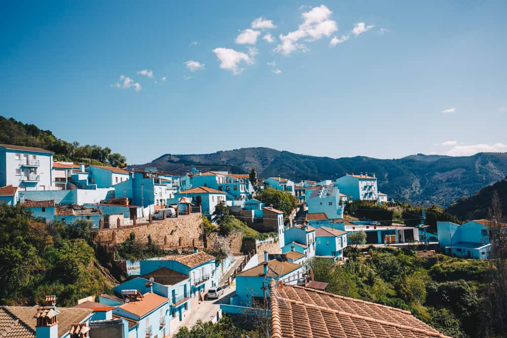 Juzcar in Andalusia