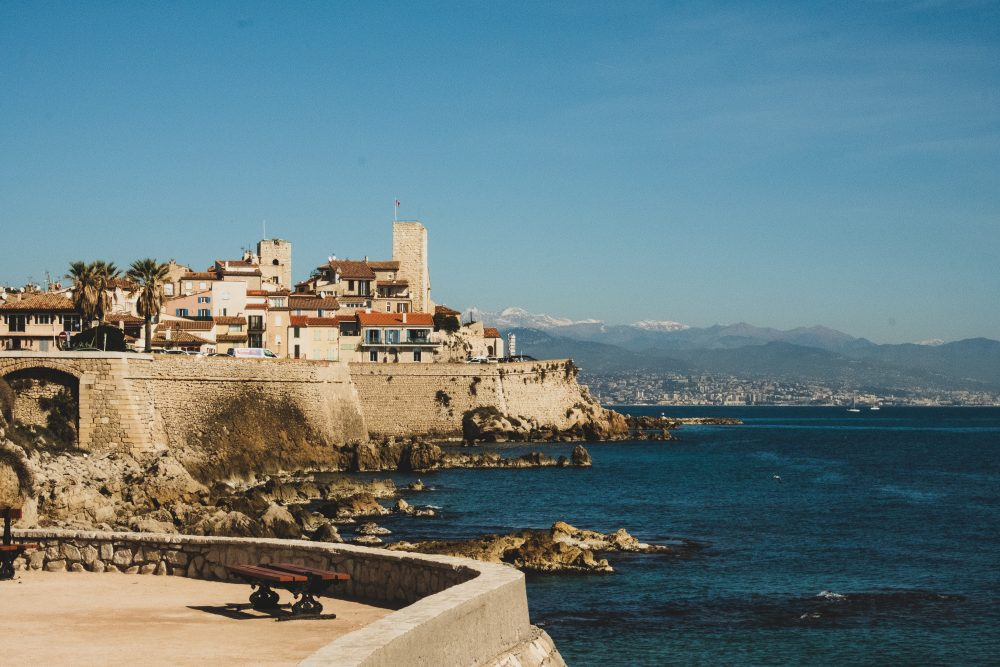 The pretty port of Antibes