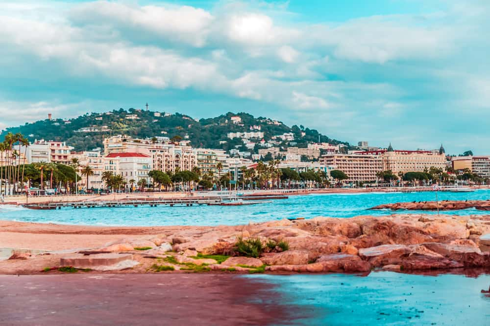 Cannes in the South of France