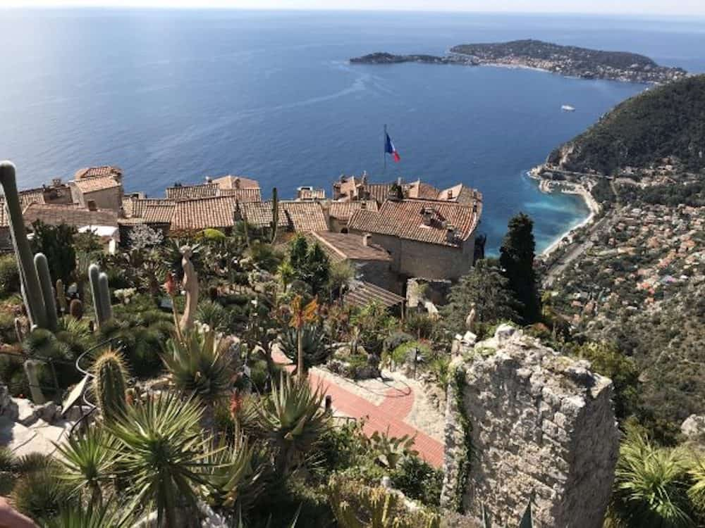 Eze in the South of France