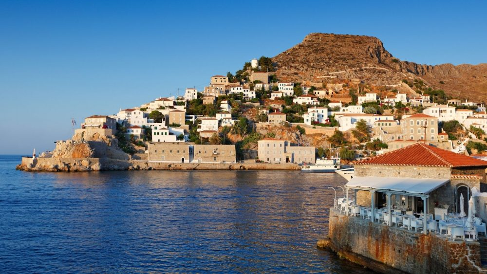The charming island of Hydra