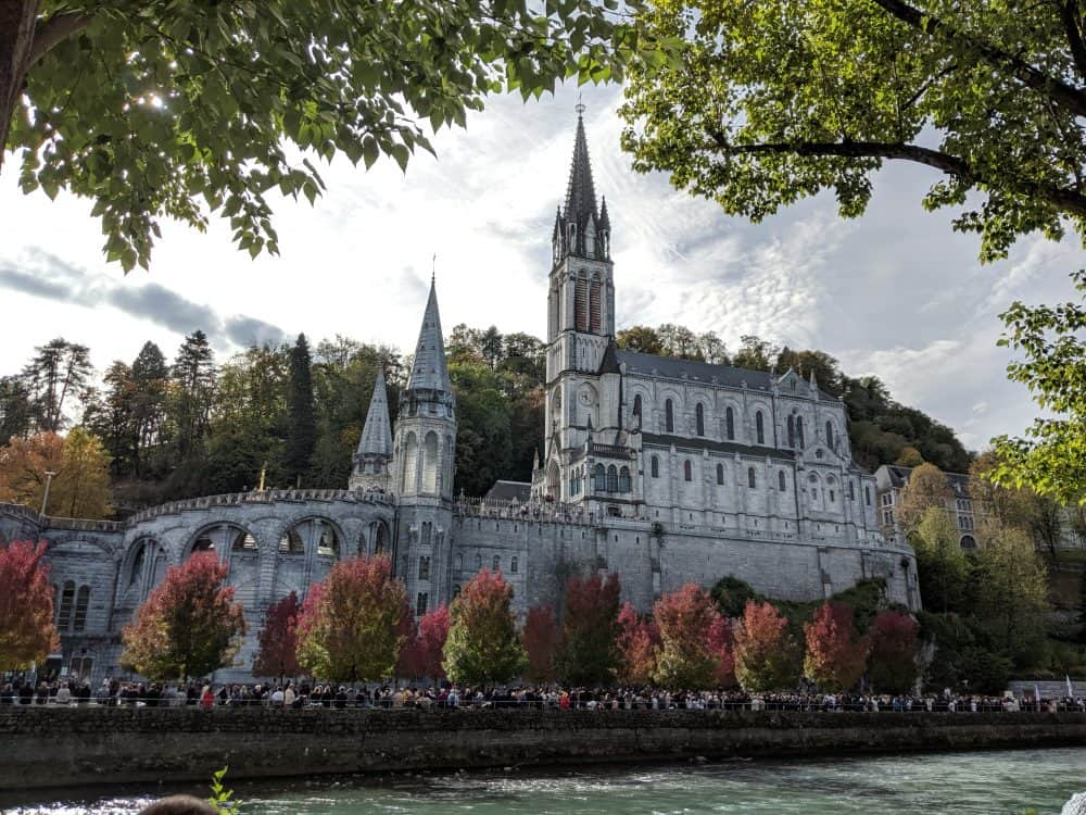 Lourdes in the South of France